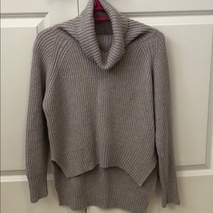 Taupe/beige wool turtleneck from Aritzia